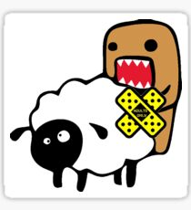 JDM DOMO SHEEP SEX Sticker
