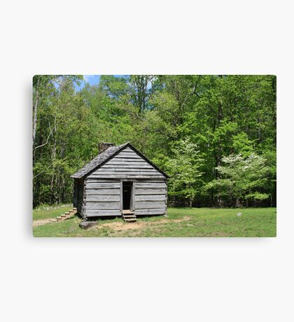 Alex Cole Cabin Canvas Print