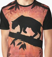 The Lonely Prowler - Gouache Graphic T-Shirt