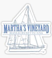 Martha's Vineyard Massachusetts Sticker
