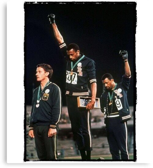 1968 Olympischen Spiele Gruß für Menschenrechte von JKulte