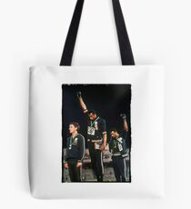 1968 Olympics Salute for Human Rights Tote Bag