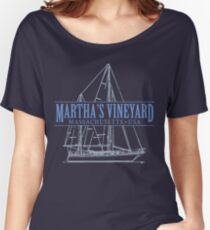 Martha's Vineyard Massachusetts Women's Relaxed Fit T-Shirt