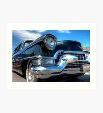 Big Black Cadillac Art Print