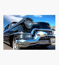 Big Black Cadillac Photographic Print