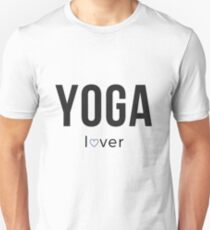 Yoga Lover with Heart Unisex T-Shirt
