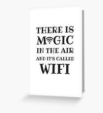 wifi love Greeting Card