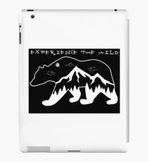 Nature lovers - Experience the Wild iPad Case/Skin