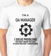 QA MANAGER - NICE DESIGN 2017 Unisex T-Shirt