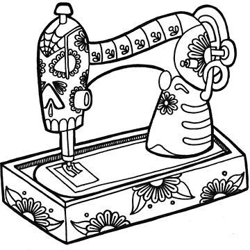 Sewing Machine by JKulte