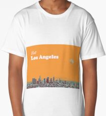 los angeles travel poster 2 Long T-Shirt