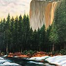 Horsetail Falls, Yosemite by Colette Hope Marks