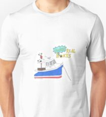 Ahh Real Boats Unisex T-Shirt