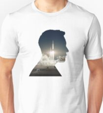 Elon Musk Launch Silhouette T-Shirt