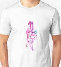 flying colors 02 // aerial. yoga. love. Unisex T-Shirt
