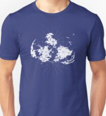 FF7 Vintage Map - White Edition T-Shirt