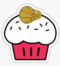 KD Cupcake with a Ring Sticker