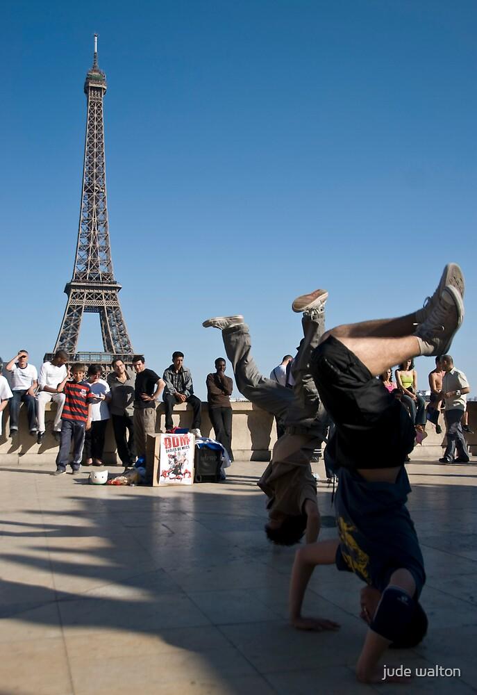 french break-dancing by jude walton
