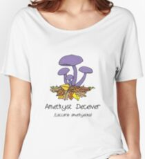 Amethyst deceiver - no smiley face Women's Relaxed Fit T-Shirt