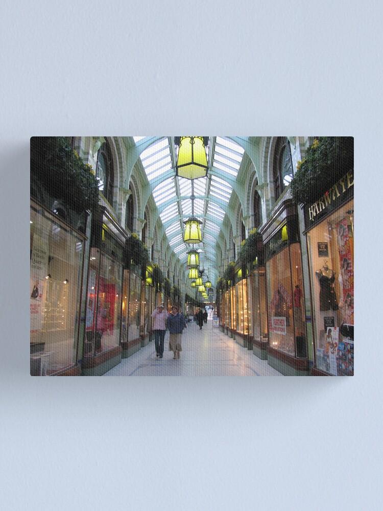 Alternate view of Royal Arcade, Norwich Canvas Print