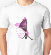 flying colors 05 // aerial. yoga. love. Unisex T-Shirt
