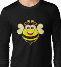 Animal Fun - Happy Bee Long Sleeve T-Shirt