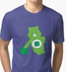 Good Luck Care Bear Tri-blend T-Shirt