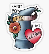 Farm Boy Sticker