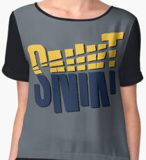 Snikt Women's Chiffon Top