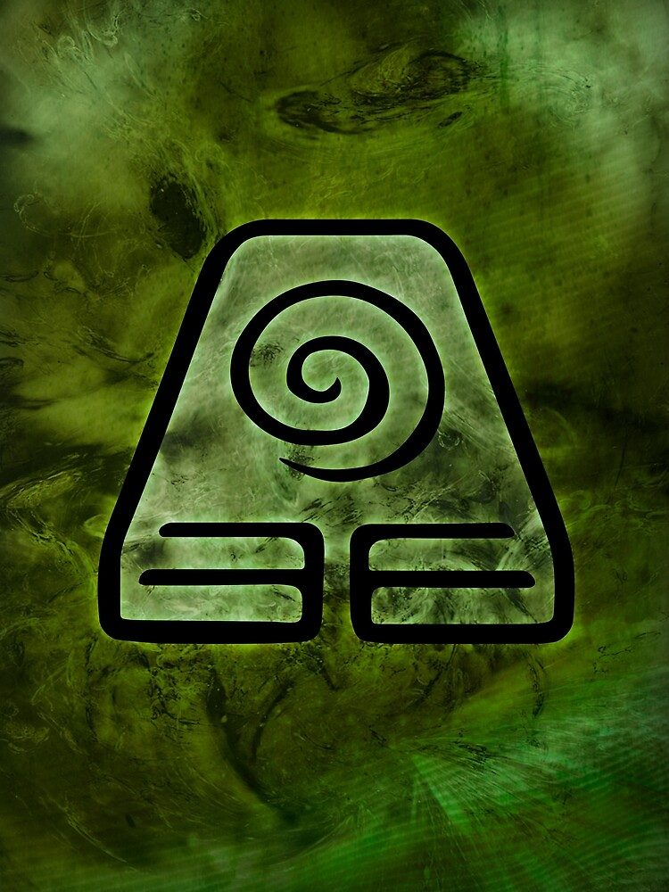 Avatar Symbol Earth Element Graphic T Shirt By Mcashe Redbubble