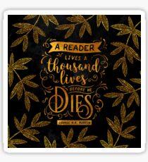 Thousand Lives Sticker