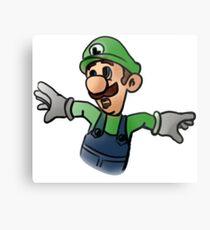 Luigi Metal Print