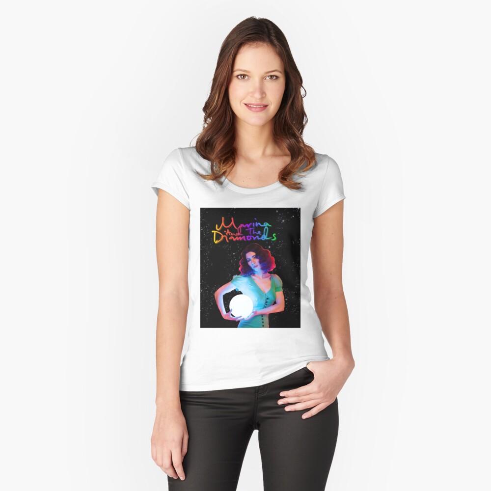 Marina und die Diamanten FROOT Tailliertes Rundhals-Shirt