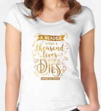 Thousand Lives Women's Fitted Scoop T-Shirt