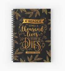 Thousand Lives Spiral Notebook