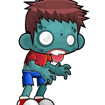 Halloween - Fun Zombie by funnyfuntees
