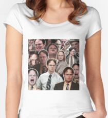 Dwight Schrute - The Office Women's Fitted Scoop T-Shirt