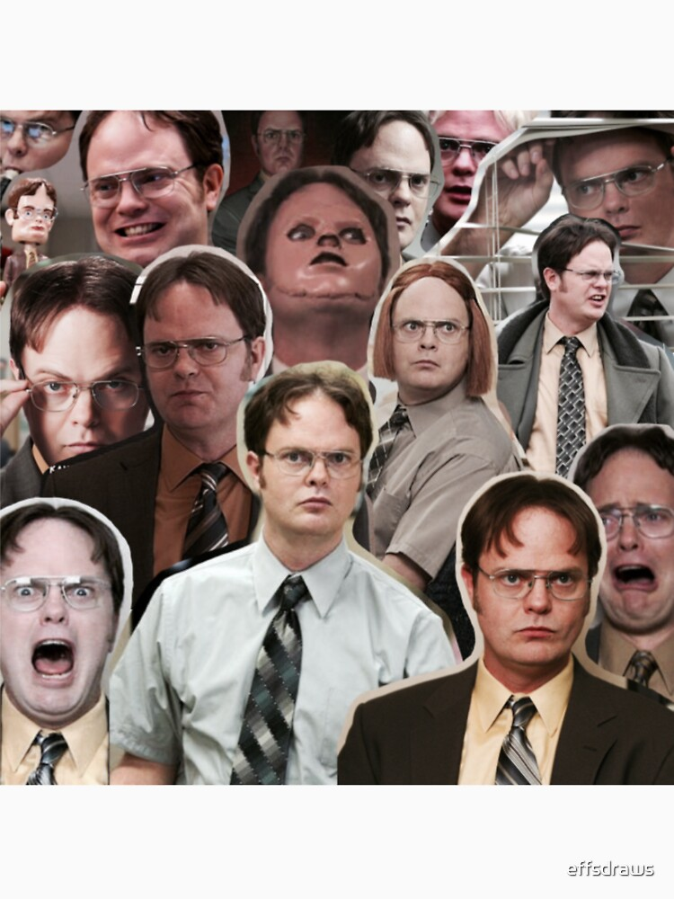 Dwight Schrute - The Office by effsdraws