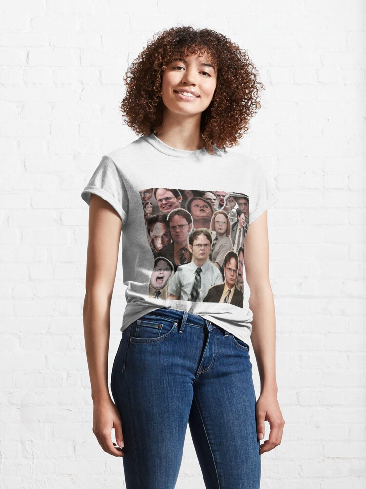 Alternate view of Dwight Schrute - The Office Classic T-Shirt