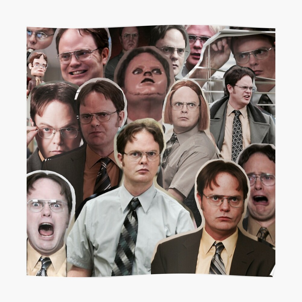 Dwight Schrute - The Office Poster
