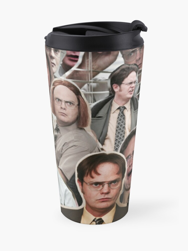 Alternate view of Dwight Schrute - The Office Travel Mug