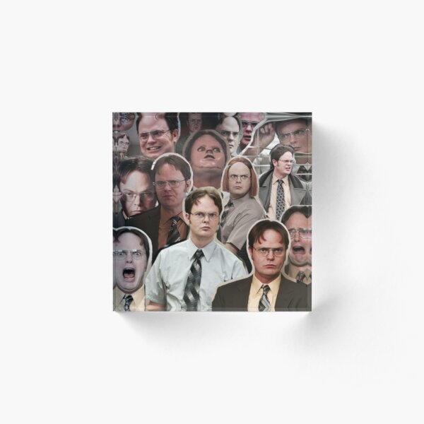 Dwight Schrute - The Office Acrylic Block