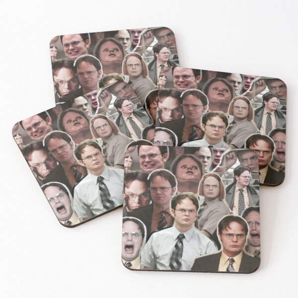 Dwight Schrute - The Office Coasters (Set of 4)