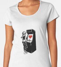 Retro Arcade Love Women's Premium T-Shirt