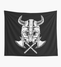 Death Viking Wall Tapestry