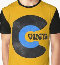 Vinyl Record Crash Retro  Graphic T-Shirt