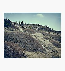 Art in Desert - Canary Island Photographic Print