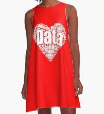 Data Science Love A-Line Dress