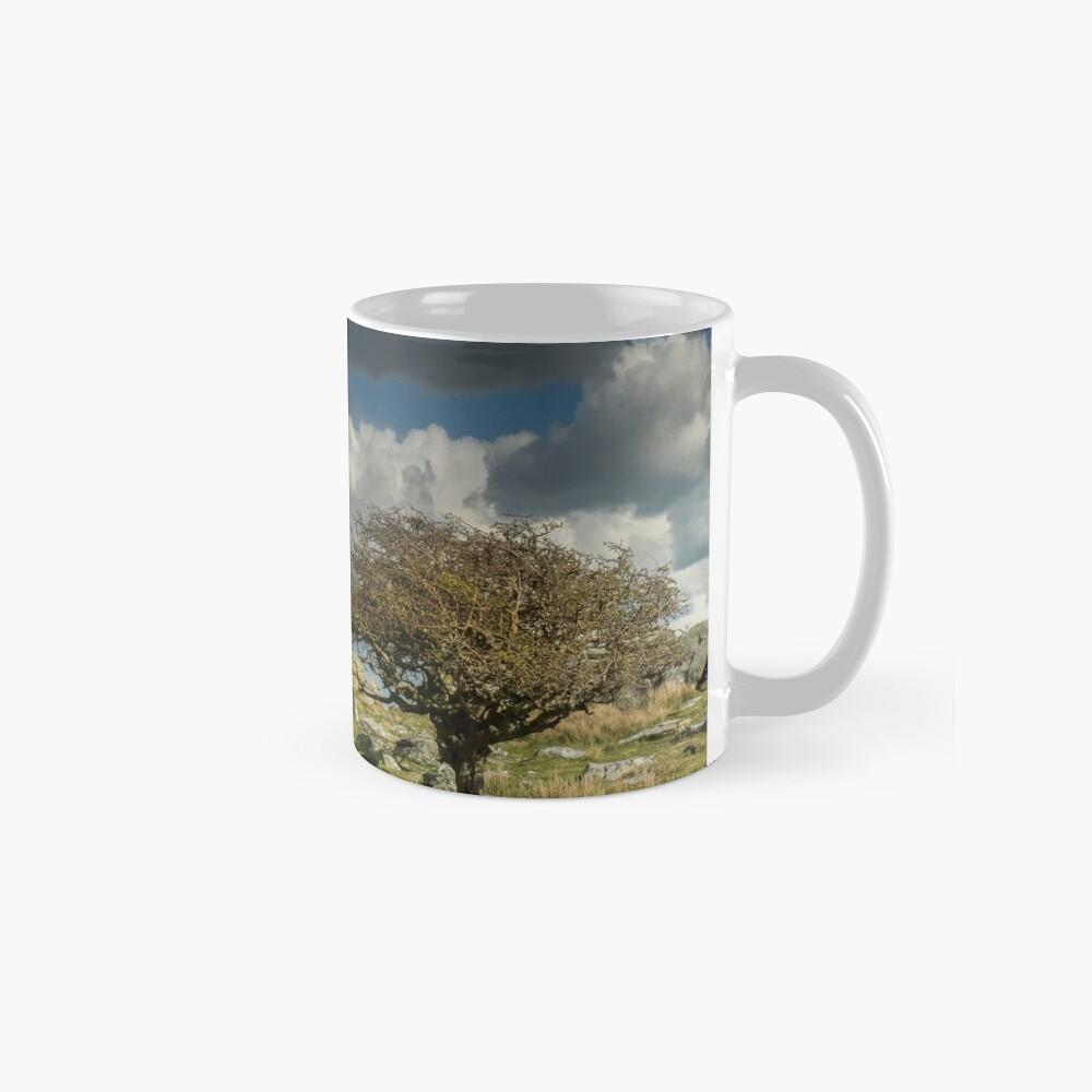 Wind-blown Hawthorn on Dartmoor Mug