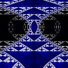 Sierpinski Pillars 2 ~ Ultra Fractal..  by Beatriz  Cruz